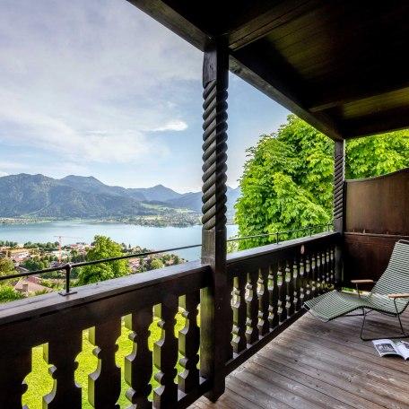 Südbalkon mit Traumblick - Hotel Der Westerhof, © im-web.de/ Tourist Information Tegernsee