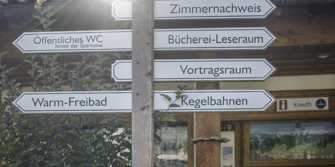 Tourist-Information Kreuth, © Dietmar Denger