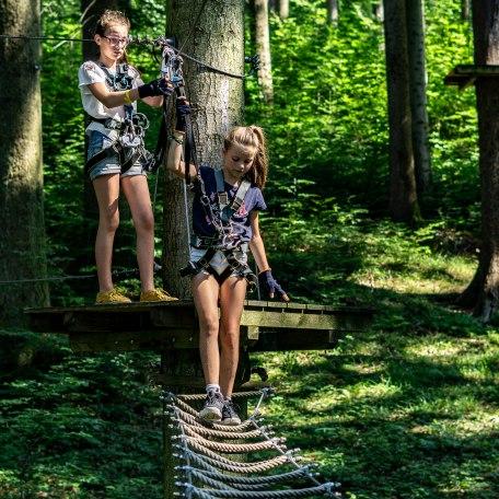 Kinder Klettern Oedberg, © Der Tegernsee, Stefanie Pfeiler