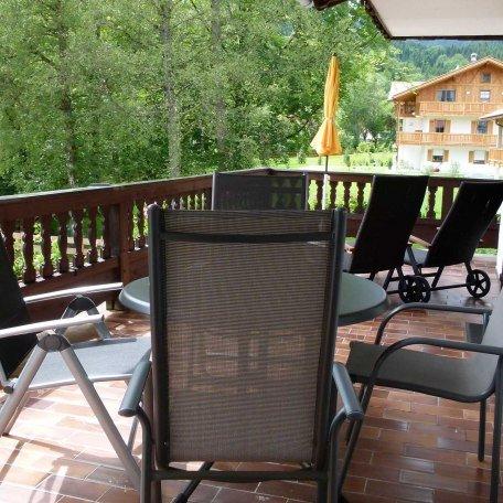große Terrasse im 1. OG zugänglich durch Wohnraum und Schlafraum der  FeWo 2, © im-web.de/ Tourist-Information Bad Wiessee
