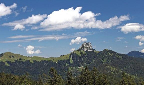 Hochalm - Blick zum Roß- u. Buchstein, © Gemeinde Kreuth