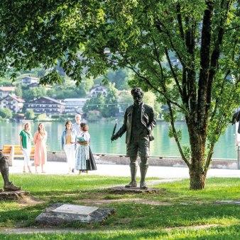 Skulpturengruppe im Kurpark Rottach-Egern, © Der Tegernsee, Thomas Plettenberg