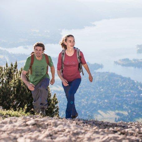 Wandern am Wallberg mit Tegernseeblick, © Hansi Heckmair
