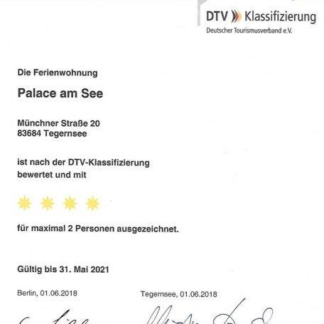 4* Klassifizierung, © im-web.de/ Tourist Information Tegernsee