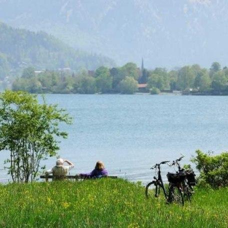 Radtour am Tegernsee, © im-web.de/ Tourist-Information Bad Wiessee
