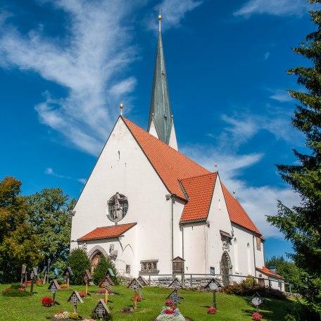 Kath. Kirche Maria Himmelfahrt Bad Wiessee, © Der Tegernsee, Sabine Ziegler-Musiol