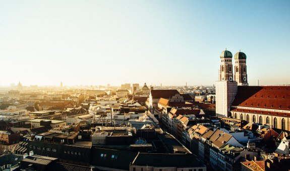 Ausblick auf die Münchner Innenstadt, © Photo by Philipp Bachhuber on Unsplash