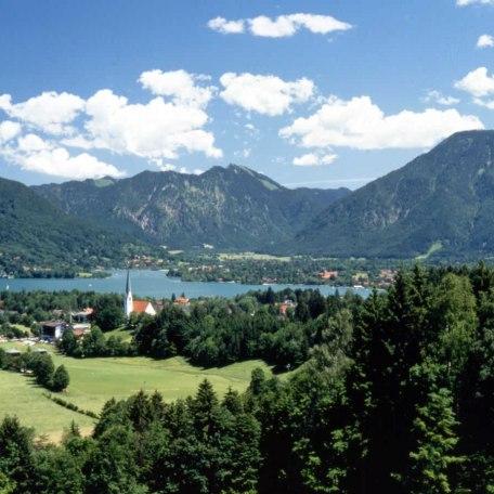 Ausblick von Panoramaweg, © im-web.de/ Tourist-Information Bad Wiessee