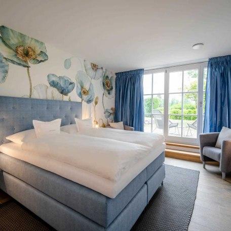 Naturdoppelzimmer Boutique Hotel Relais Chalet Wilhelmy, © im-web.de/ Tourist-Information Bad Wiessee