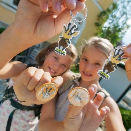 Kinderferienprogramm Kinder vor der Tousit-Info, © Thomas Linkel