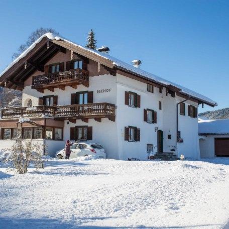 Seehof im Winter, © im-web.de/ Tourist-Information Bad Wiessee