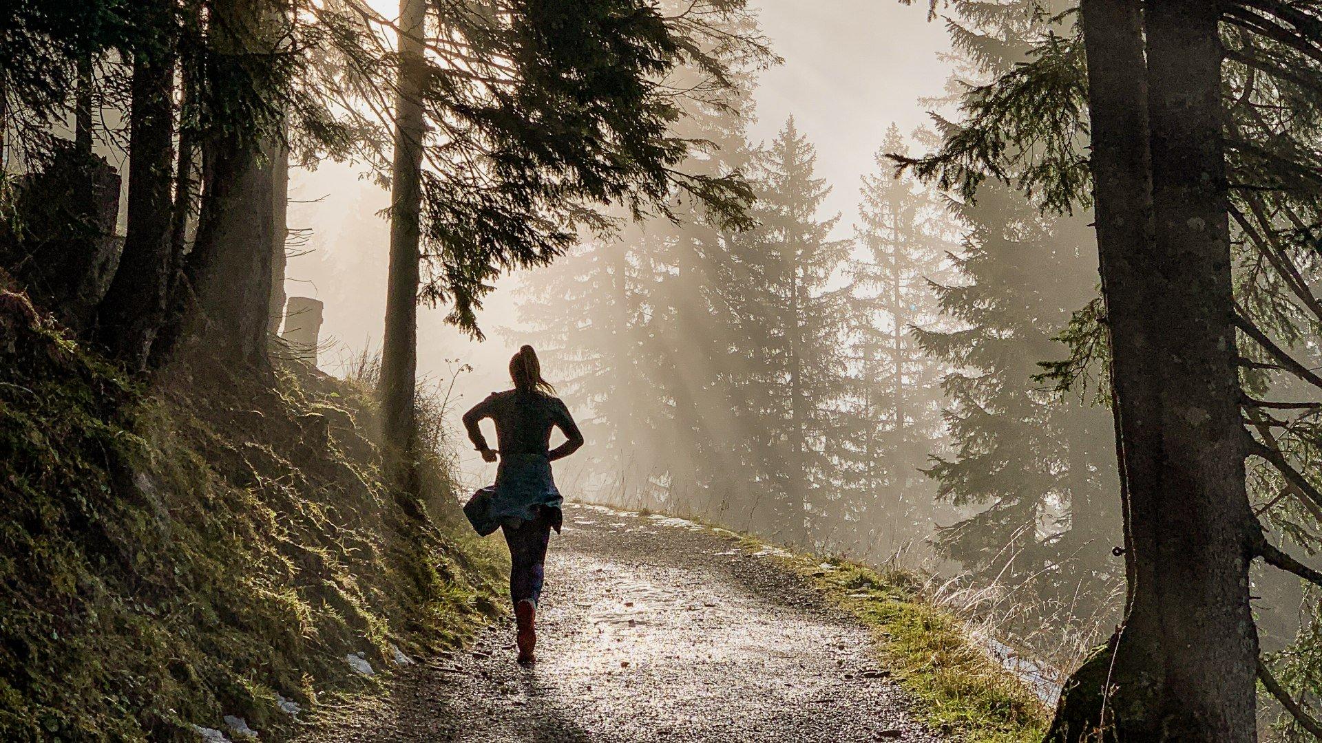 Laufen am Tegernsee, © Philipp Reiter