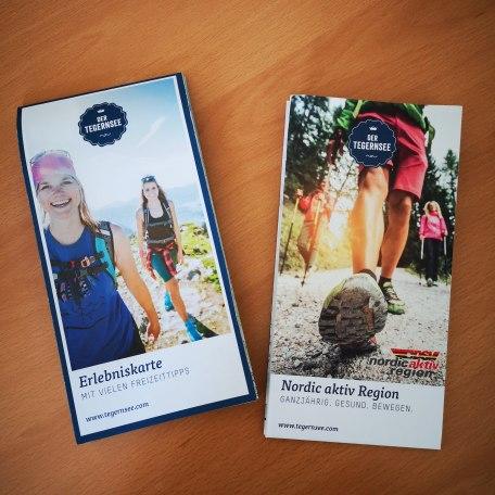 Kartenmaterial zum Thema Nordic Walking, © der Tegernsee