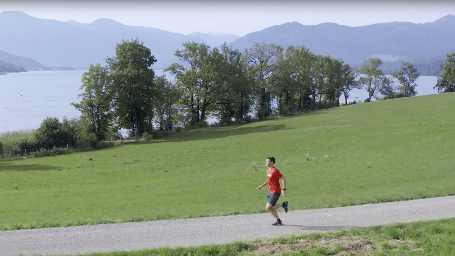 Laufen am Tegernsee, © Der Tegernsee
