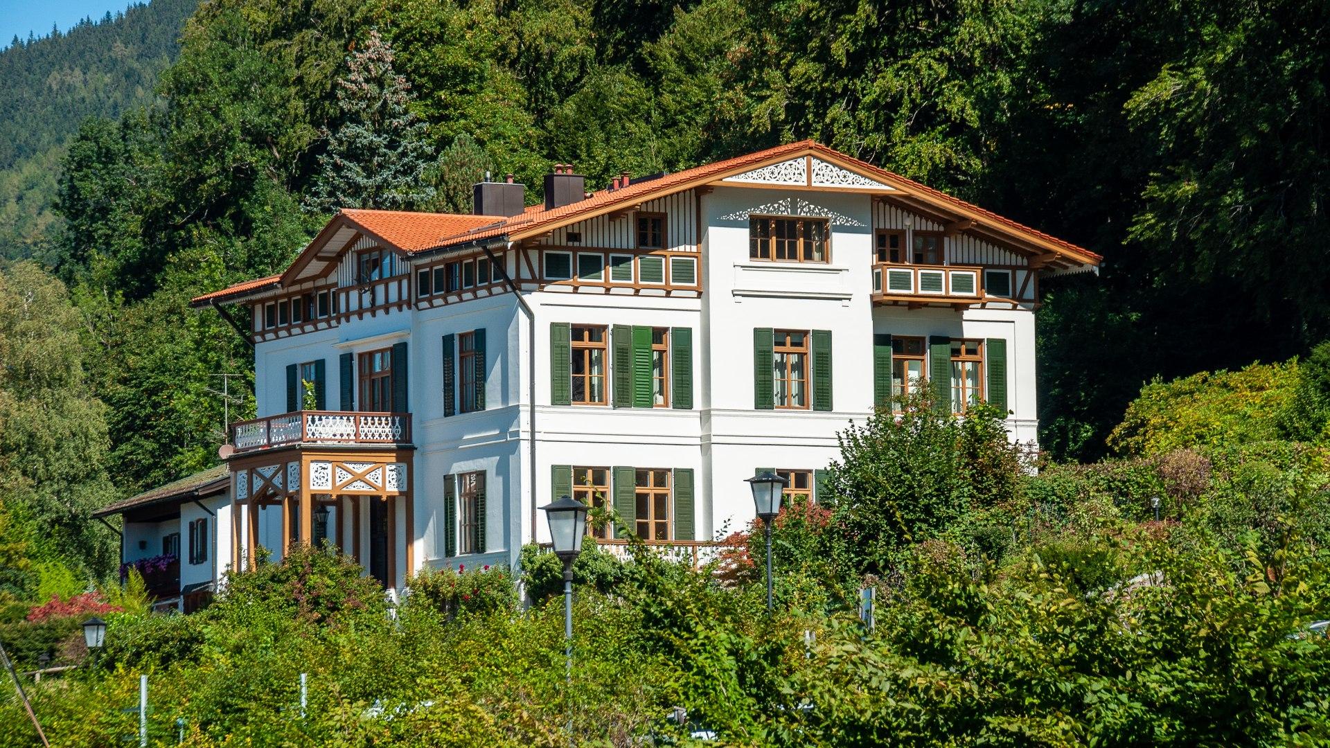 Villa Frankenburg, © Der Tegernsee, Sabine Ziegler-Musiol