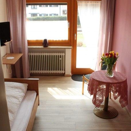 Einzelzimmer, Terrasse, © im-web.de/ Tourist-Information Bad Wiessee