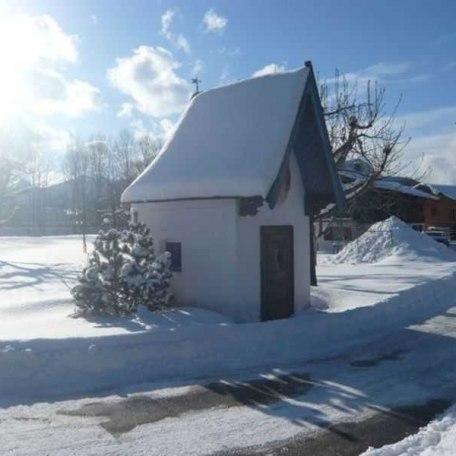Hauskapelle im Winter, © im-web.de/ Tourist-Information Rottach-Egern