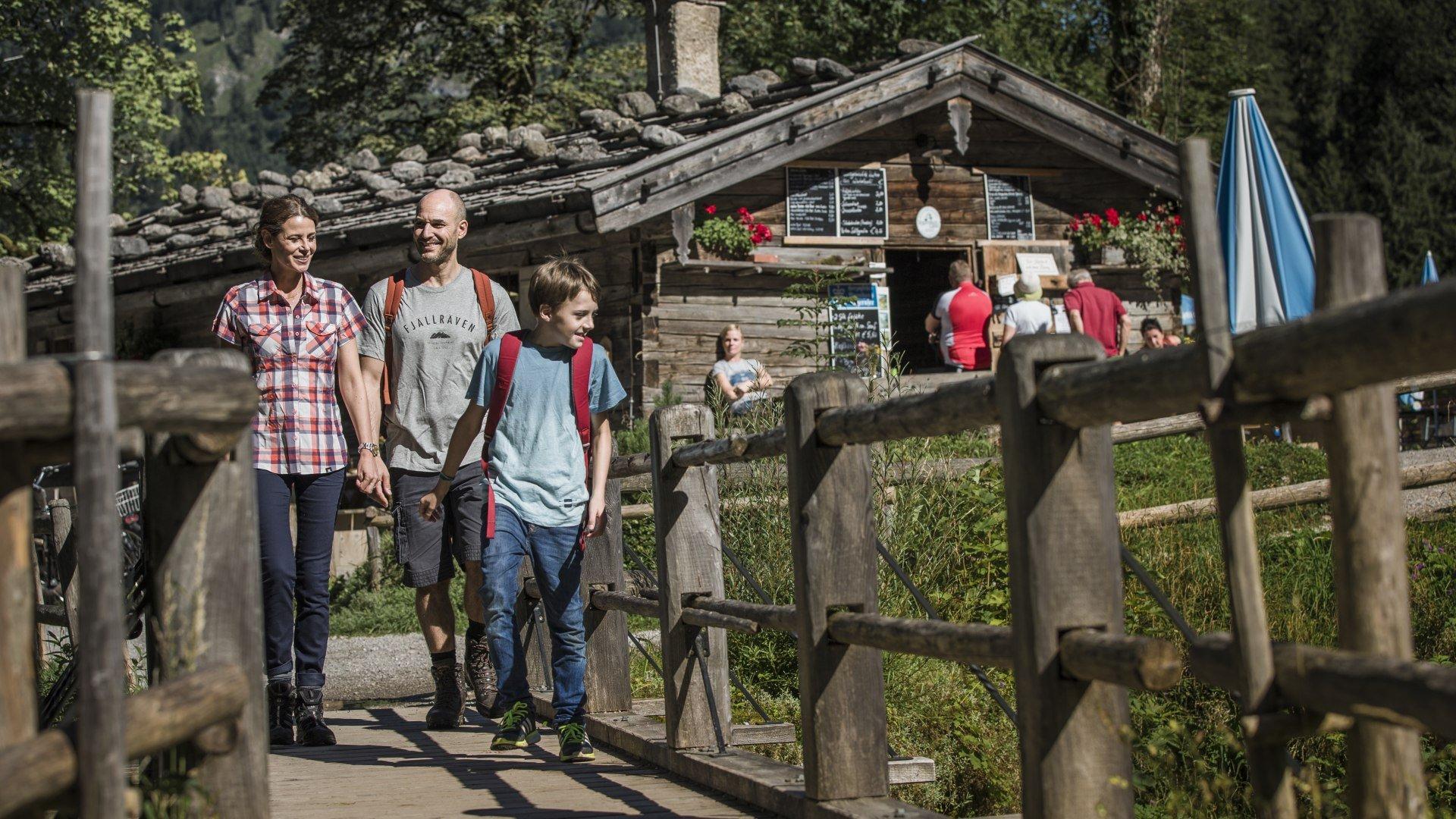 Familienwandern - Feuer & Eis Touristik , © Hansi Heckmair