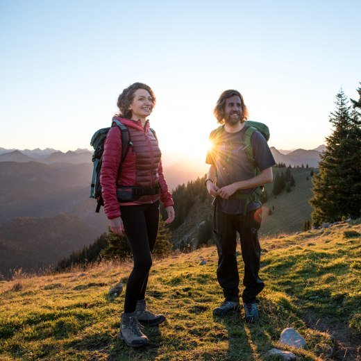 Bergwanderer, © Julian Rohn/ Tegernseer Tourismus GmbH