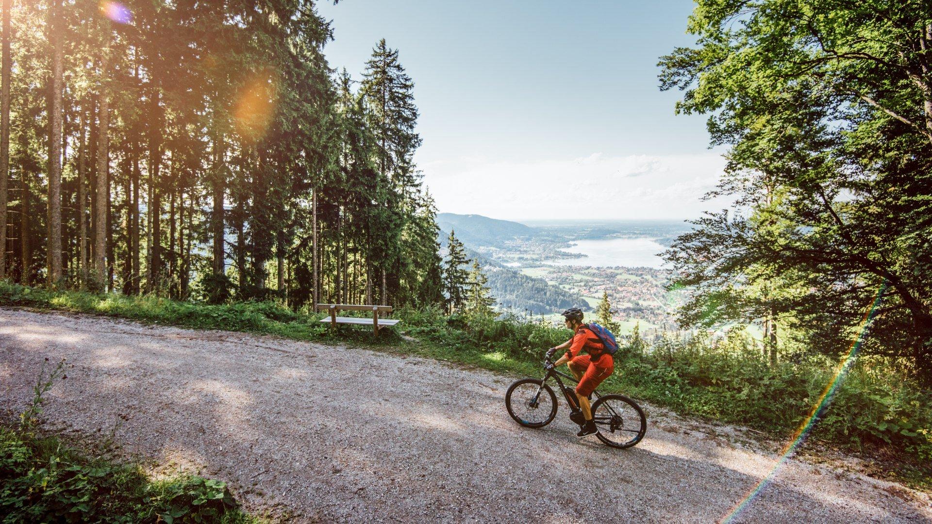 E-Mountainbike am Tegernsee, © Julian Rohn