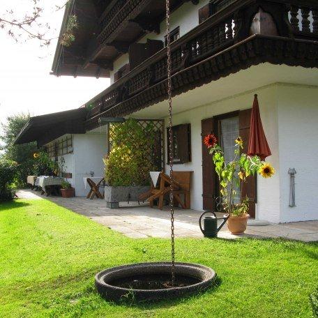 Terrasse Zimmer Wallberg und Setzberg, © im-web.de/ Tourist-Information Rottach-Egern