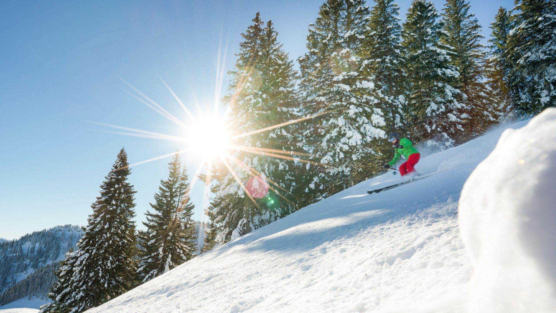 Skifahren im Skigebiet Spitzingsee, © Dietmar Denger