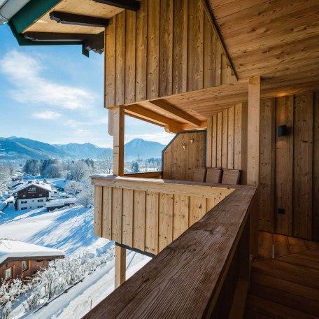Balkon Wohnbereich mit Seeblick, © im-web.de/ Tourist-Information Bad Wiessee