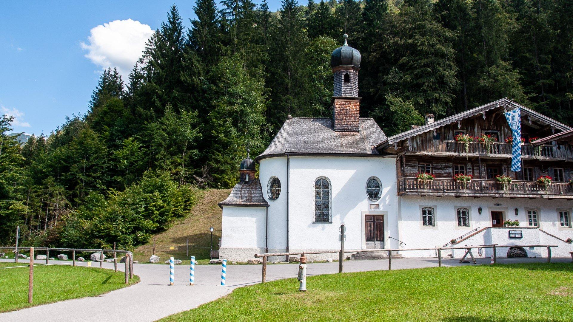 Zum Heiligen Kreuz, © Der Tegernsee, Sabine Ziegler-Musiol