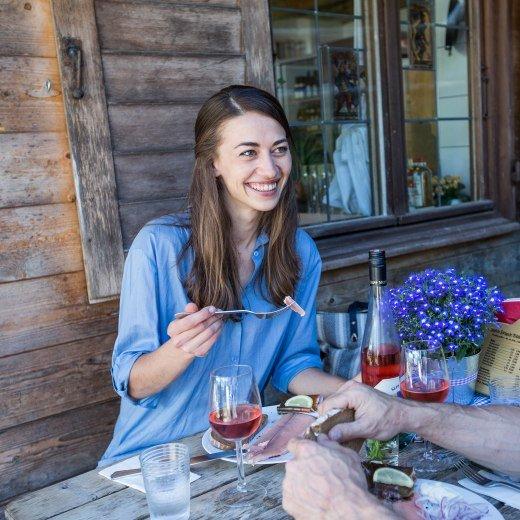 Good meal at a mountain hut, © Der Tegernsee, Hansi Heckmair