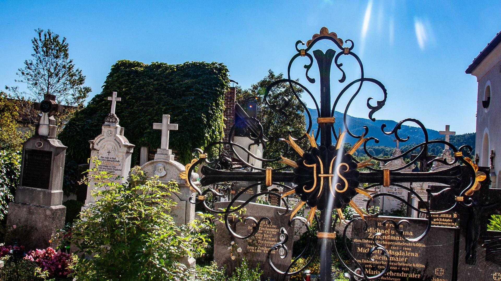 Alter Friedhof Gmund, © Der Tegernsee, Sabine Ziegler-Musiol
