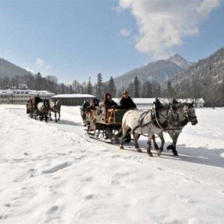 hauseigene Kutschen- und Pferdeschlittenfahrten, © im-web.de/ Tourist-Information Kreuth