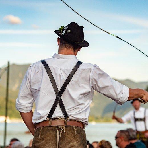 Goaßlschnalzer Seefest Bad Weissee, © Stefan Schiefer