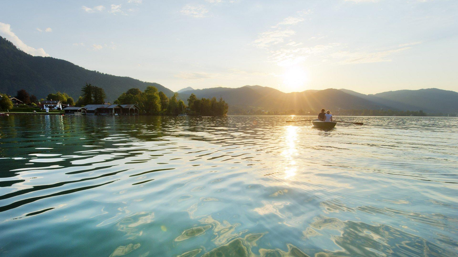 Entspannente Momente auf dem Tegernsee, © Thomas Linkel