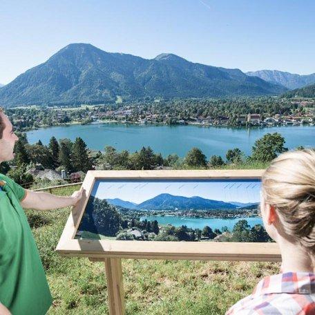 Blick vom Panoramawanderweg auf den Malerwinkel, © Hansi Heckmair