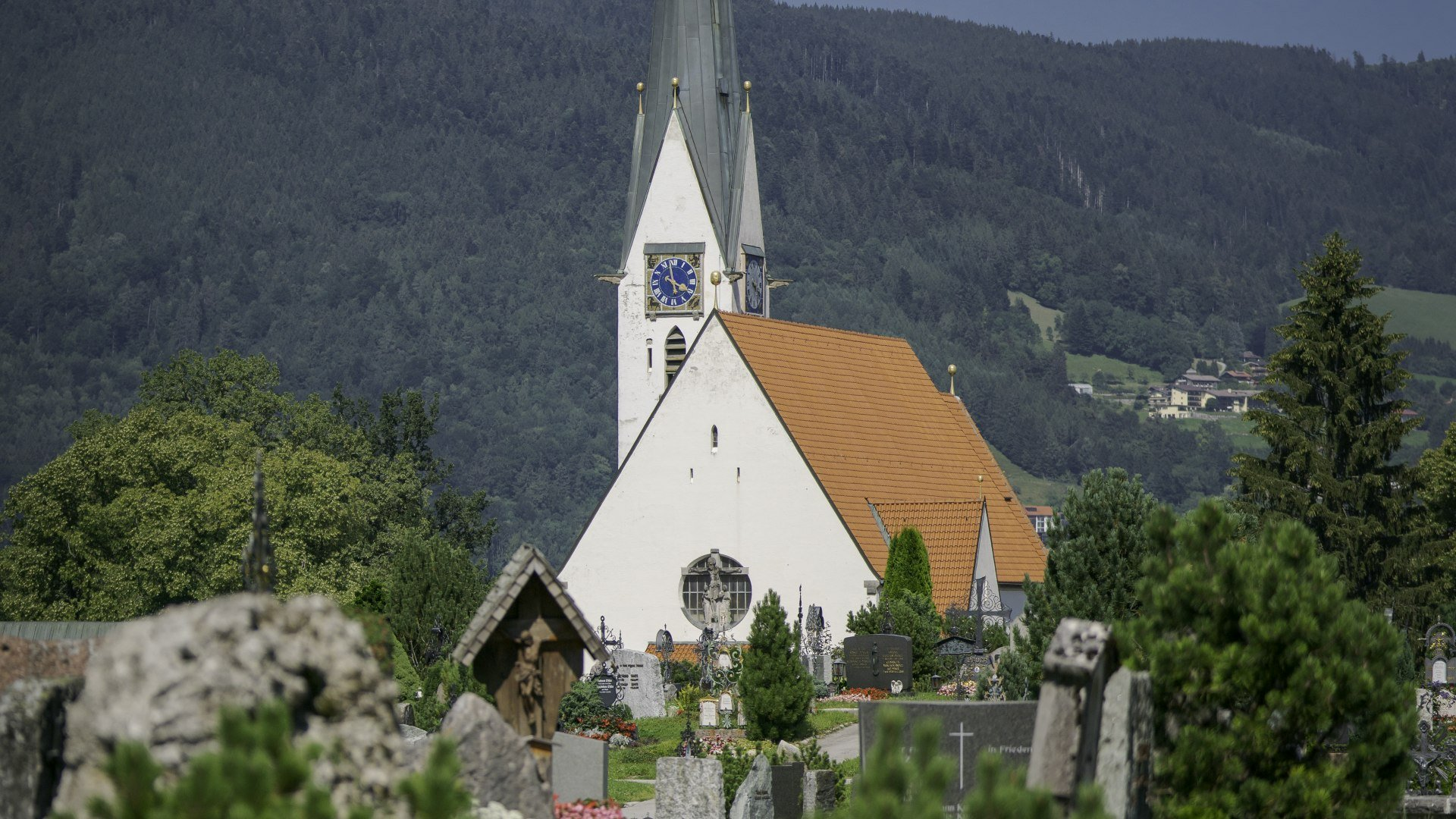 Bergfriedhof, © Der Tegernsee, Dietmar Denger