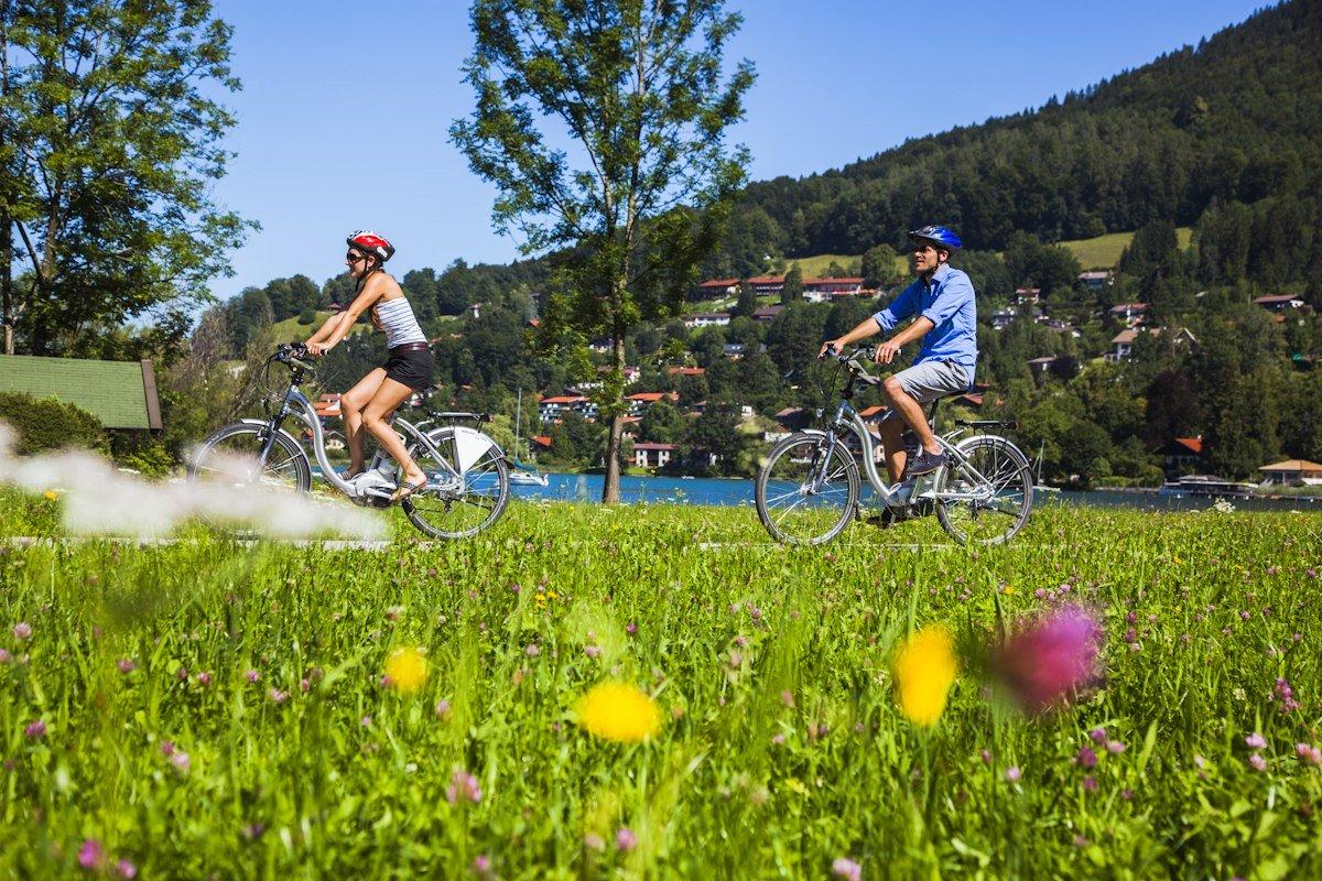 Fahrradtour am Tegernsee, © Frank Heuer