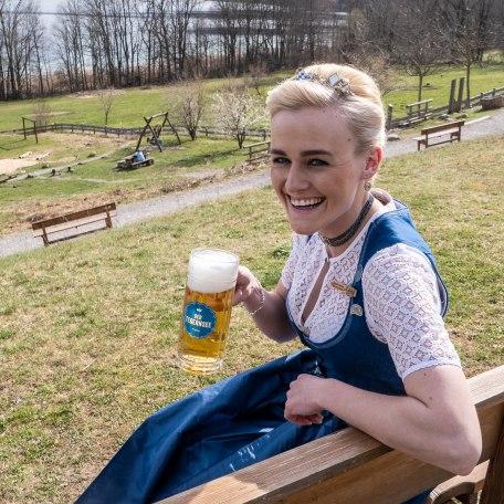 Bayerische Bierkönigin Vroni Ettstaller , © Isabelle Munstermann
