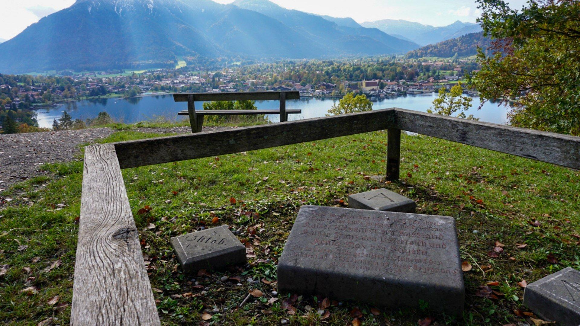 Gedenktafel, © Der Tegernsee, Hannah Bachmeier
