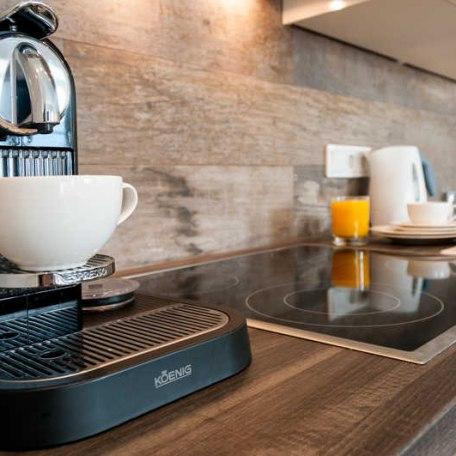 Küche: für all diejenigen, die Ihren Nespresso im Urlaub nicht missen möchten, © im-web.de/ Tourist Information Tegernsee