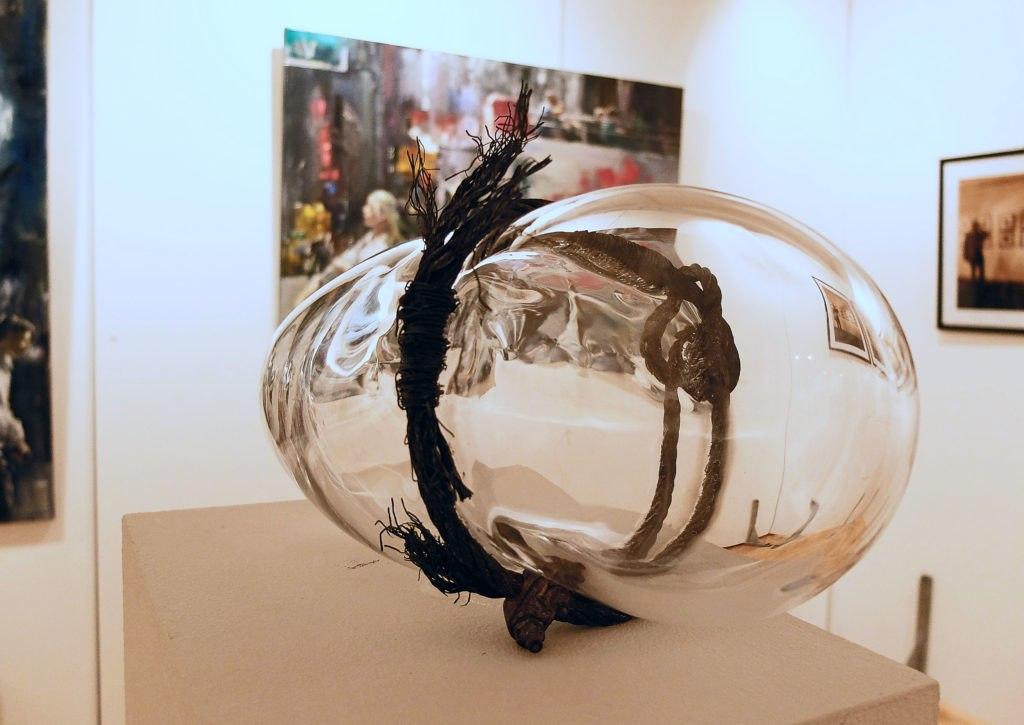 Tegernseer Kunstausstellung - Glas Objekt 498, © Ines Wagner