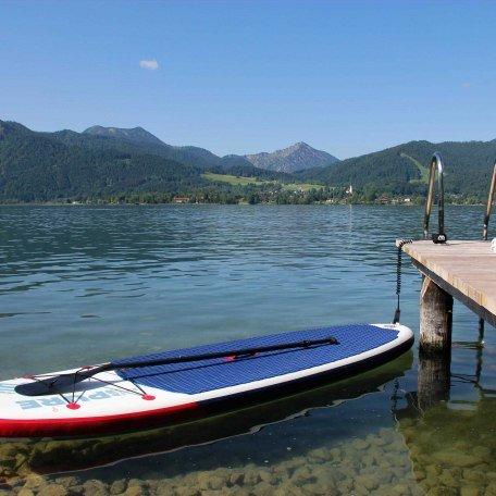 Gratis Stand Up Paddle Verleih, © im-web.de/ Tourist Information Tegernsee