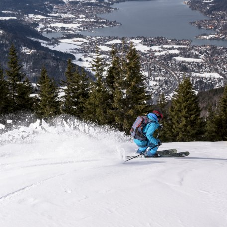 Skifahren am Setzberg, © Der Tegernsee, Julian Rohn