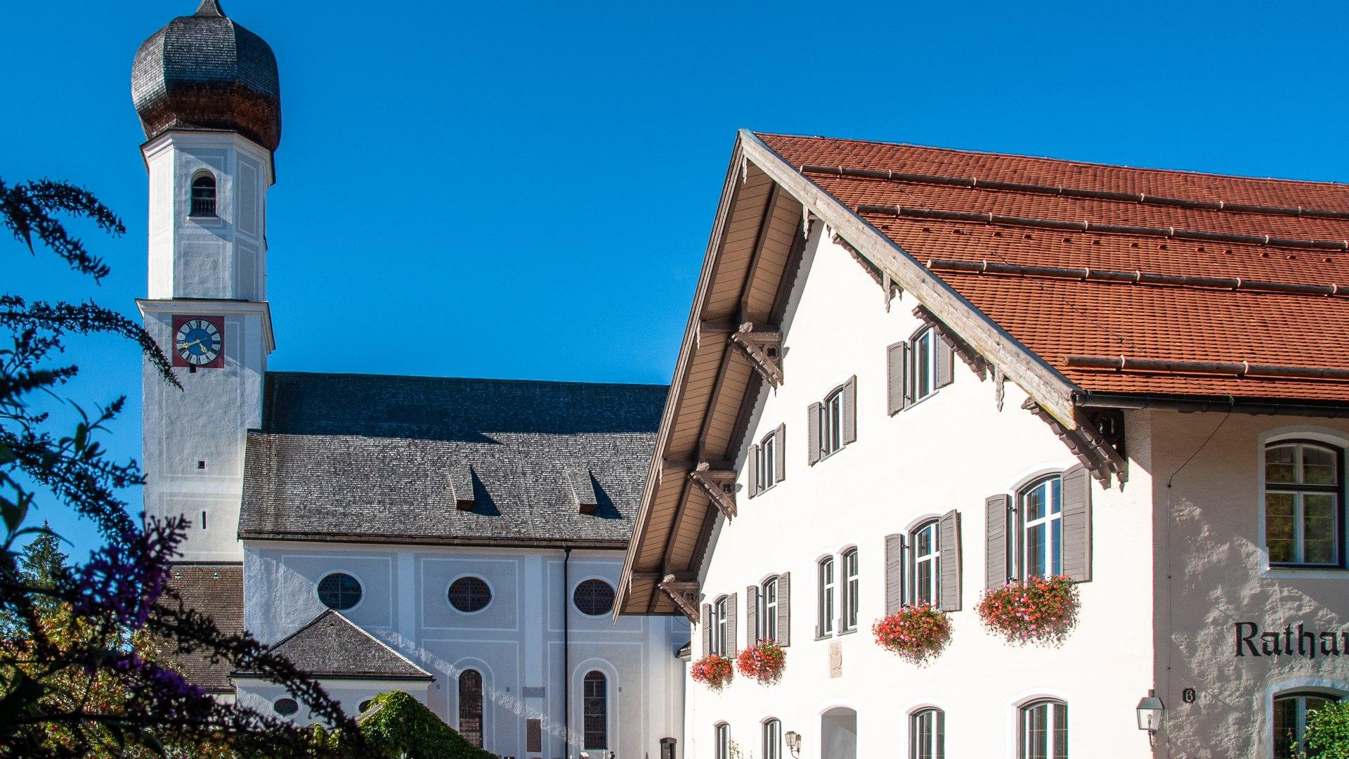Kath. Kirche St. Aegidius Gmund, © Der Tegernsee, Sabine Ziegler-Musiol