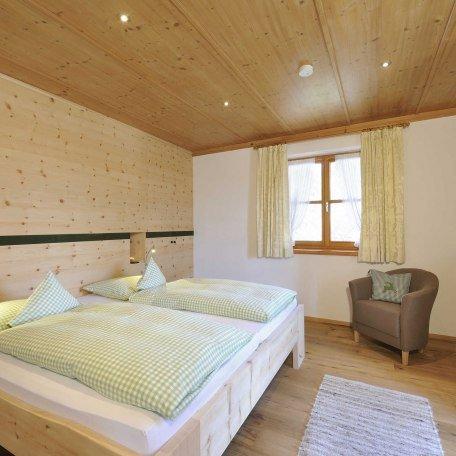 Schlafraum in einer unserer Ferienwohnungen am Ignazhof, © im-web.de/ Tourist-Information Bad Wiessee