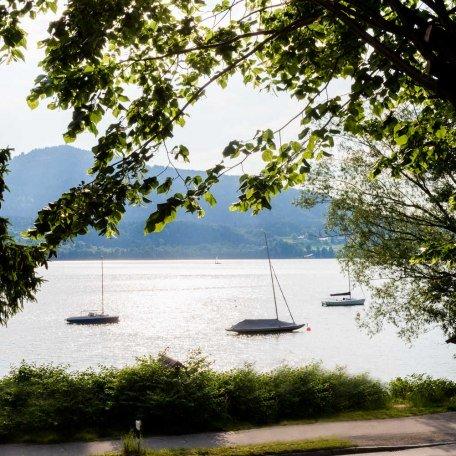 Blick auf die Quirinbucht, © im-web.de/ Tourist-Information Gmund am Tegernsee