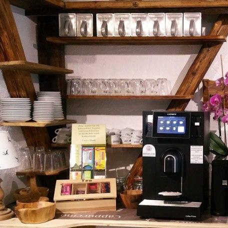 Kaffeespezialitäten aus dem Hause Dinzler Tee kostenfrei, © im-web.de/ Tourist-Information Bad Wiessee