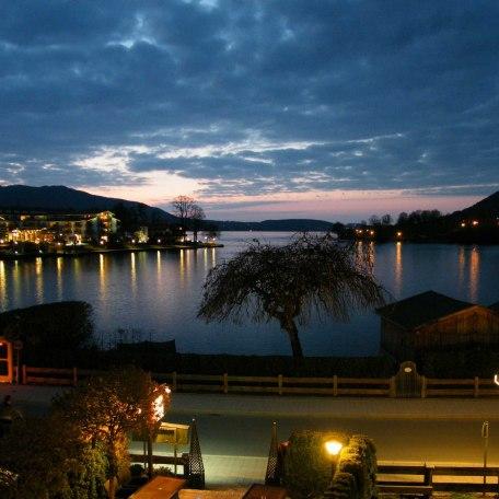 Abendstimmung am See, © im-web.de/ Tourist-Information Rottach-Egern