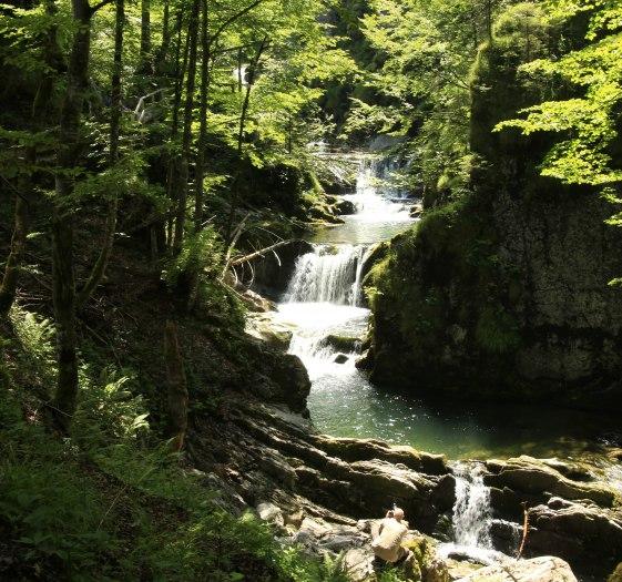 Die Sibliwasserfälle in Rottach-Egern, © Egbert Krupp