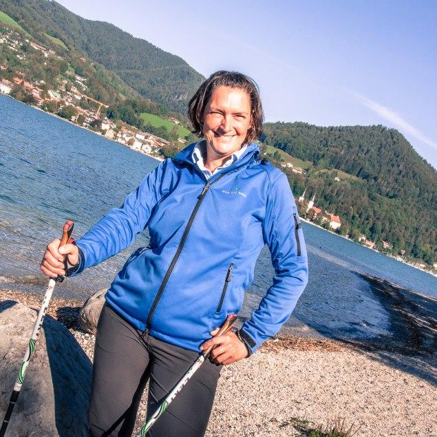 Nordic Walking Expertin Maike Strobel, © Sabine Ziegler-Musiol
