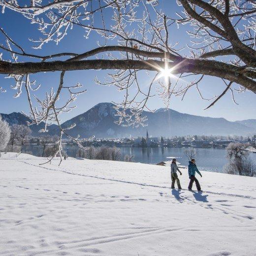 Winterwandern vor dem winterlichen Malerwinkel in Bayern, © Bernd Ritschel